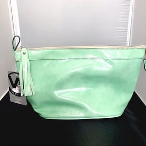 🆕 GORGEOUS SAGE LEATHER HAND BAG